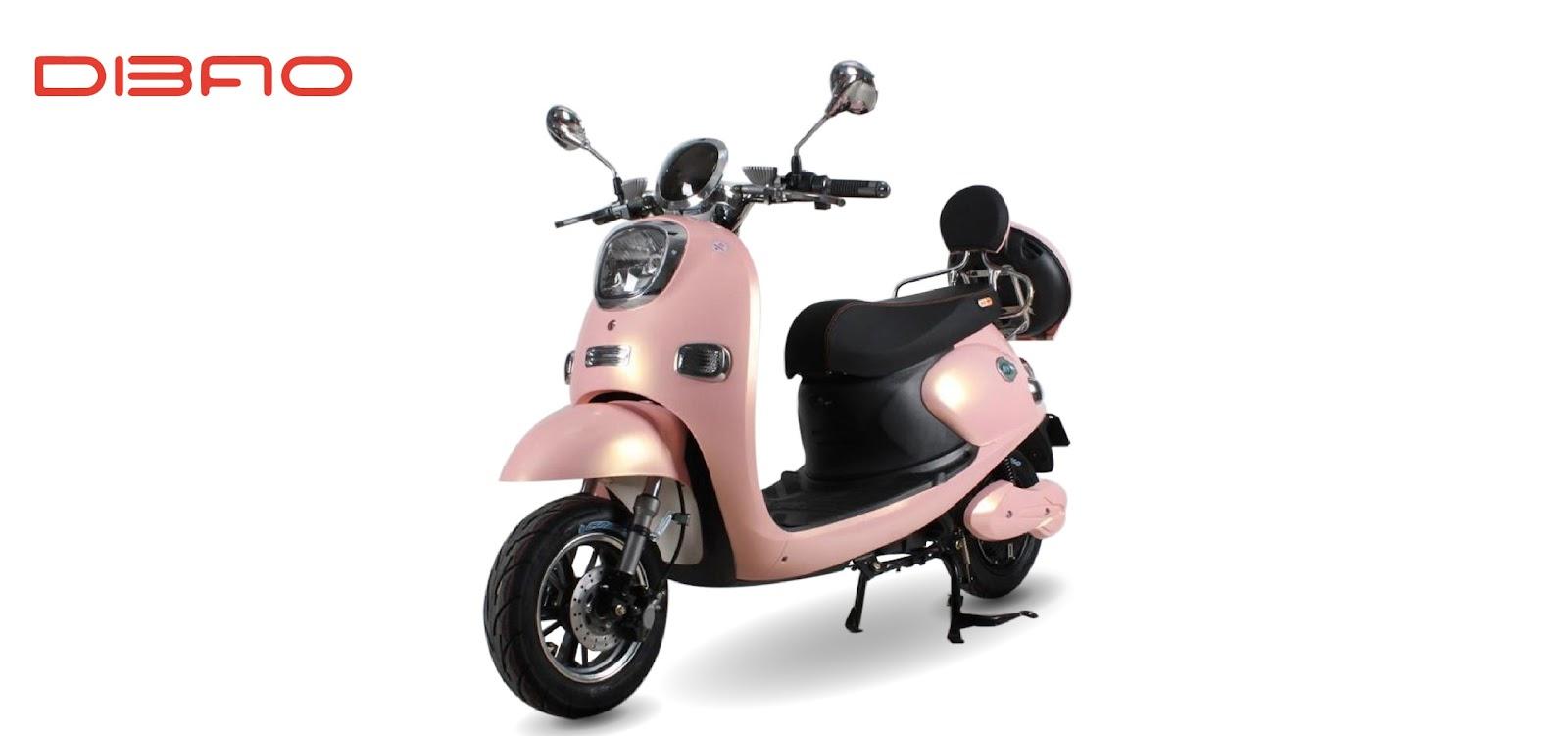 Xe máy điện Dibao Nami có thiết kế thời thượng