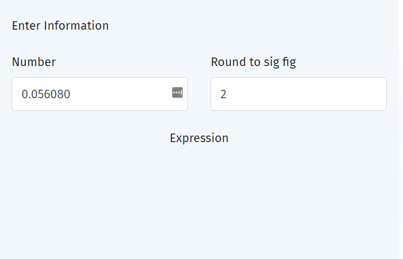 Steps to find significant figures