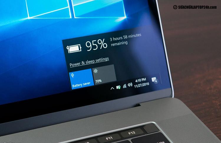 Thời lượng sử dụng pin laptop phụ thuộc vào Cell pin