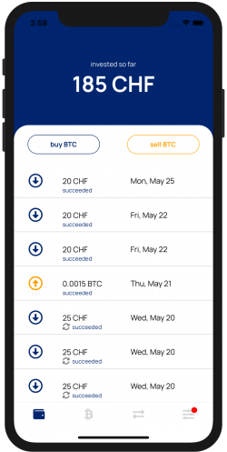 DCA Bitcoin CHF