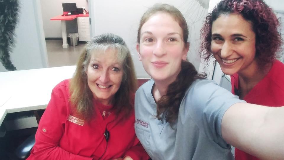Tracy, Megs, & Cara