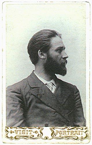Іван Адамович Саммер (початок 1900 р.р.).Фото з booksite.ru.