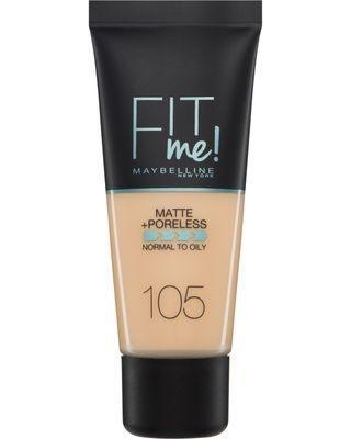 Fit Me! Matte and Poreless Foundation : Maybelline