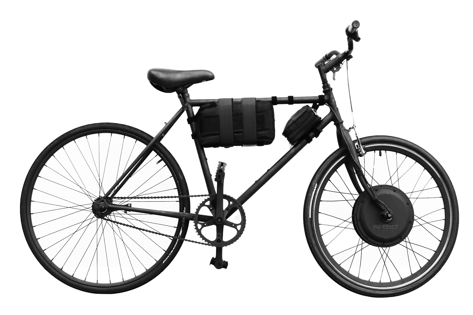 bicycle to e-bike.