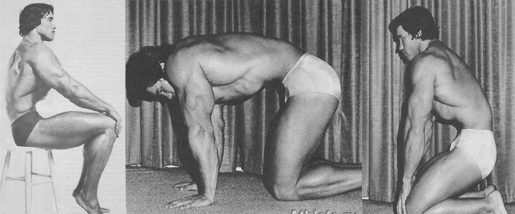 Вакуум в животі - улюблена вправа Арнольда Шварценеггера