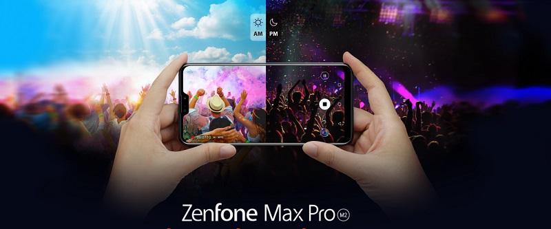 Смартфон Asus ZenFone Max Pro (M2) 6/64G (ZB631KL-4D067EU) Midnight Blue