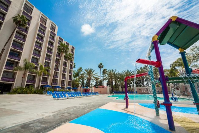 Kids Will Love The Water Feature And Pool At Knott S Hotel Photo Credit