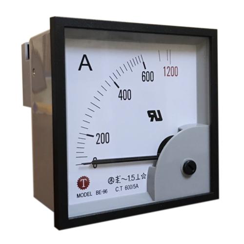 Đồng hồ đo dòng điện (Ampe kế) BE-96 600/5A Taiwan Meter