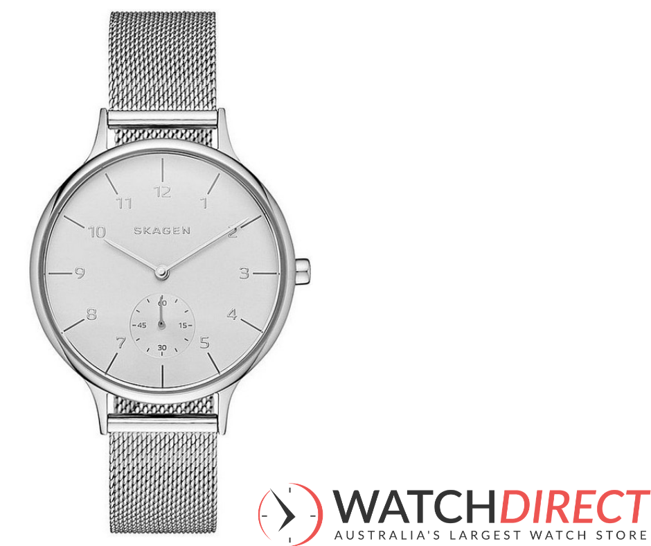 She can channel her silver fox with a Skagen Anita Quartz 3-Hand Stainless Steel Silver Women's Watch.