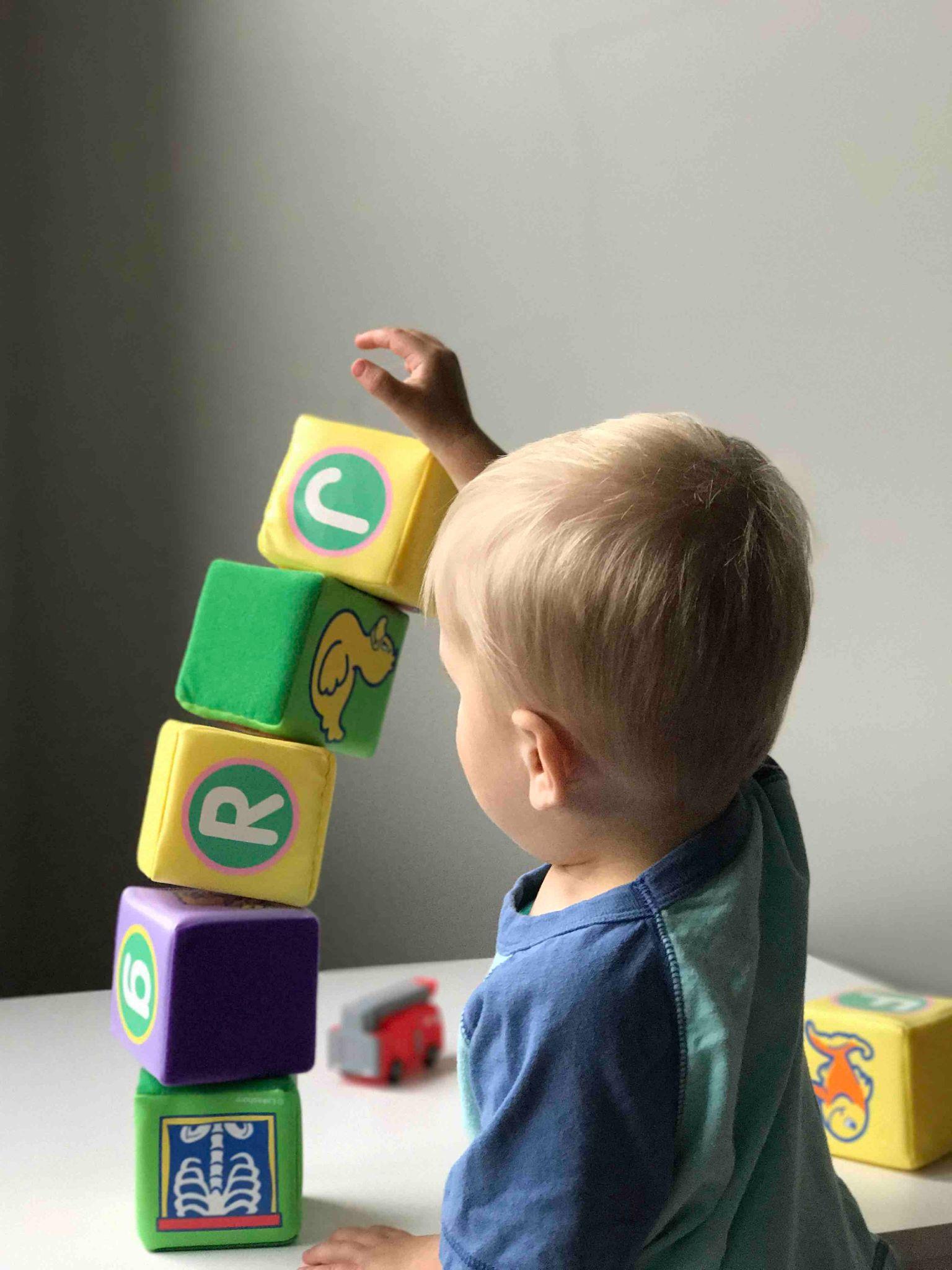 Baby Toy Box Blocks