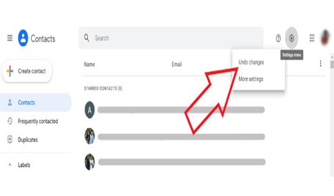 استرجاع ارقام الهاتف من جوجل ٣