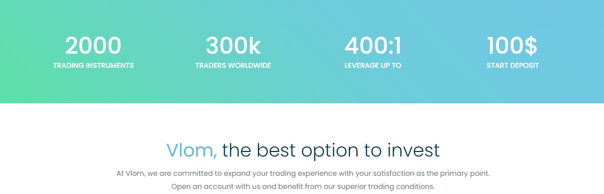 Broker Vlom: the another trading scam company review news