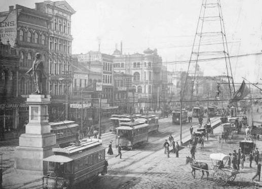 Image result for new orleans 1800s
