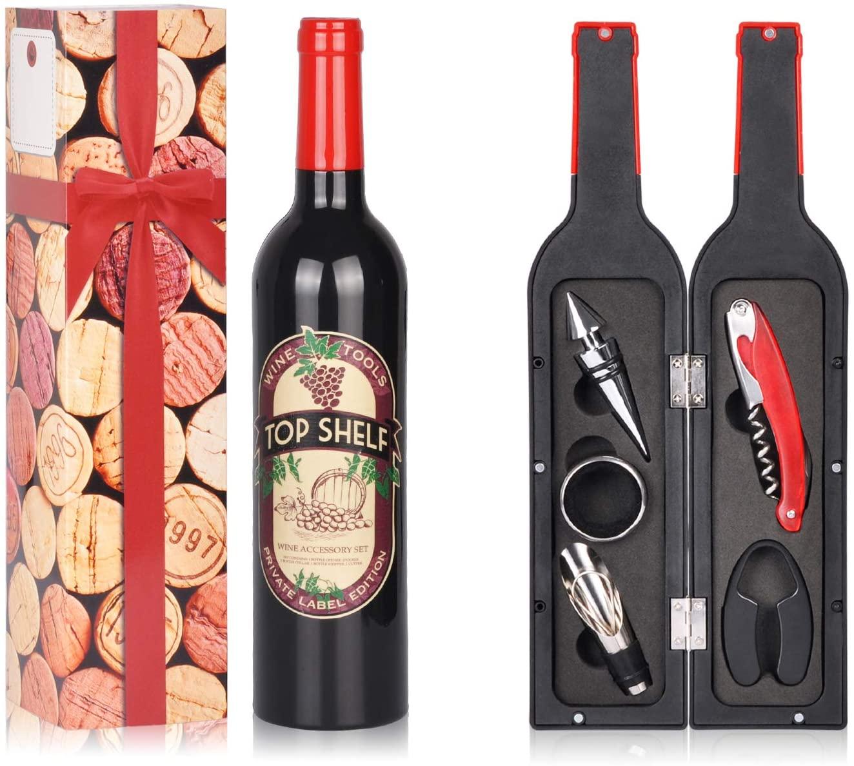 Wine Accessories Gift Set; White Elephant Gift Ideas Under $30