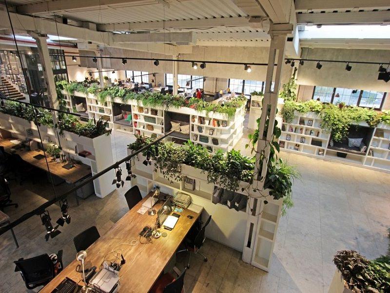 thiết kế văn phòng làm việc đẹp thu hút nguồn nhân lực cho công ty