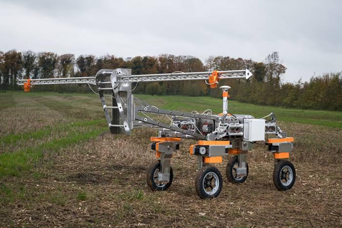 robô utilizado no campo
