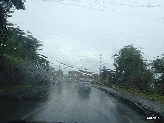 Это был даже не тропический ливень. Так, дождик