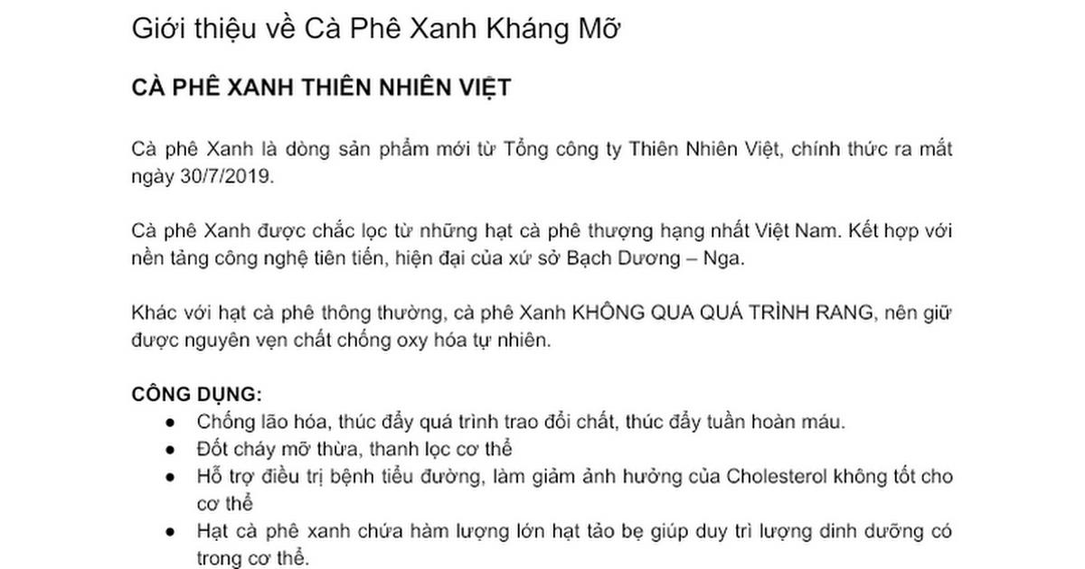 Cà Phê Xanh Social cover image
