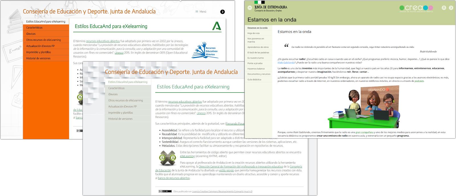 Estilos de Andalucía y Extremadura