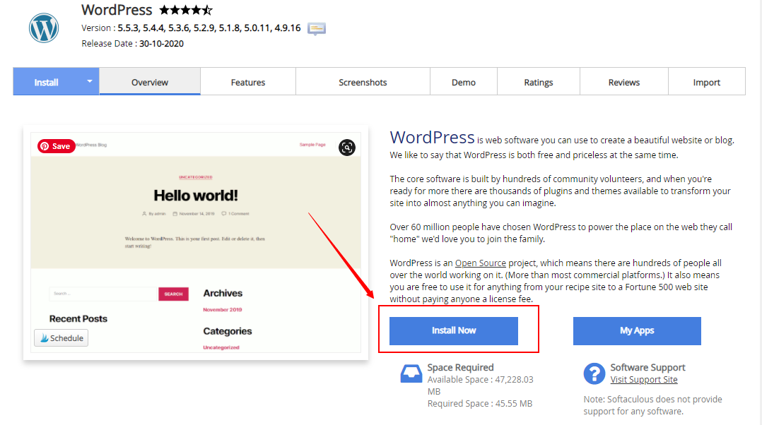 how to install wordpress in Kenya