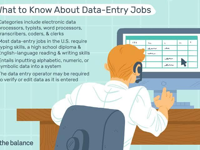 Data Entry Jobs