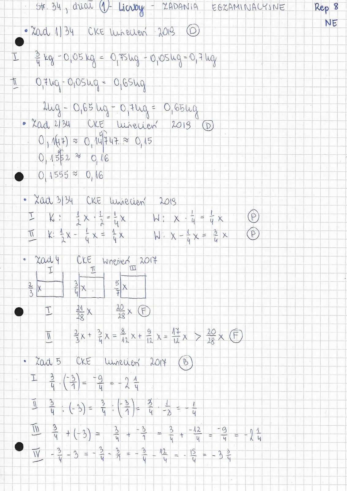 teraz egzamin ósmoklasisty matematyka repetytorium pdf chomikuj