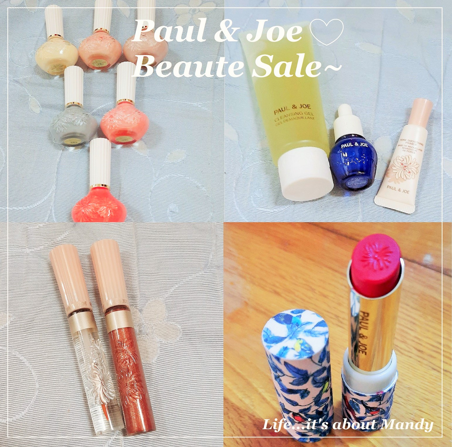 [小資女入手時機] Paul & Joe Beaute Sale~