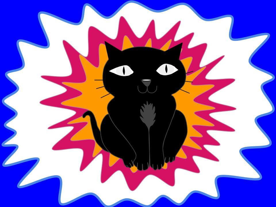 La gata Cromata contenta negra.jpg