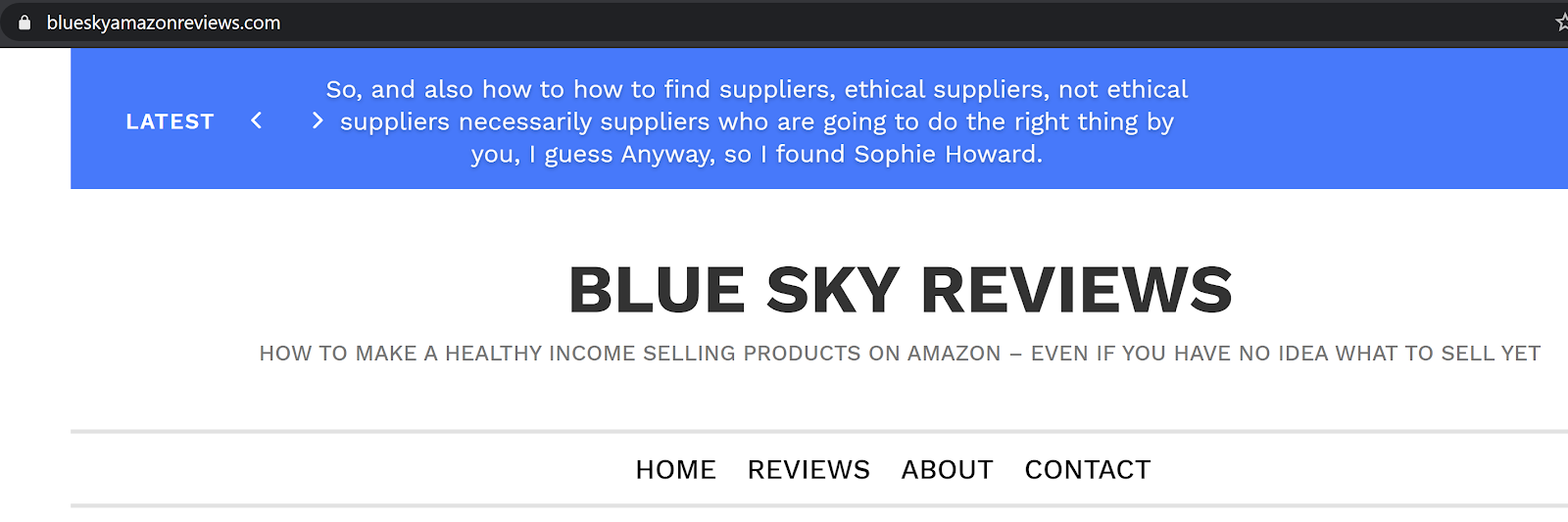 Blue Sky amazon reviews