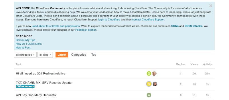 Cộng đồng Cloudflare CDN