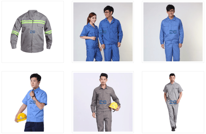 Công dụng của quần áo đồng phục công nhân