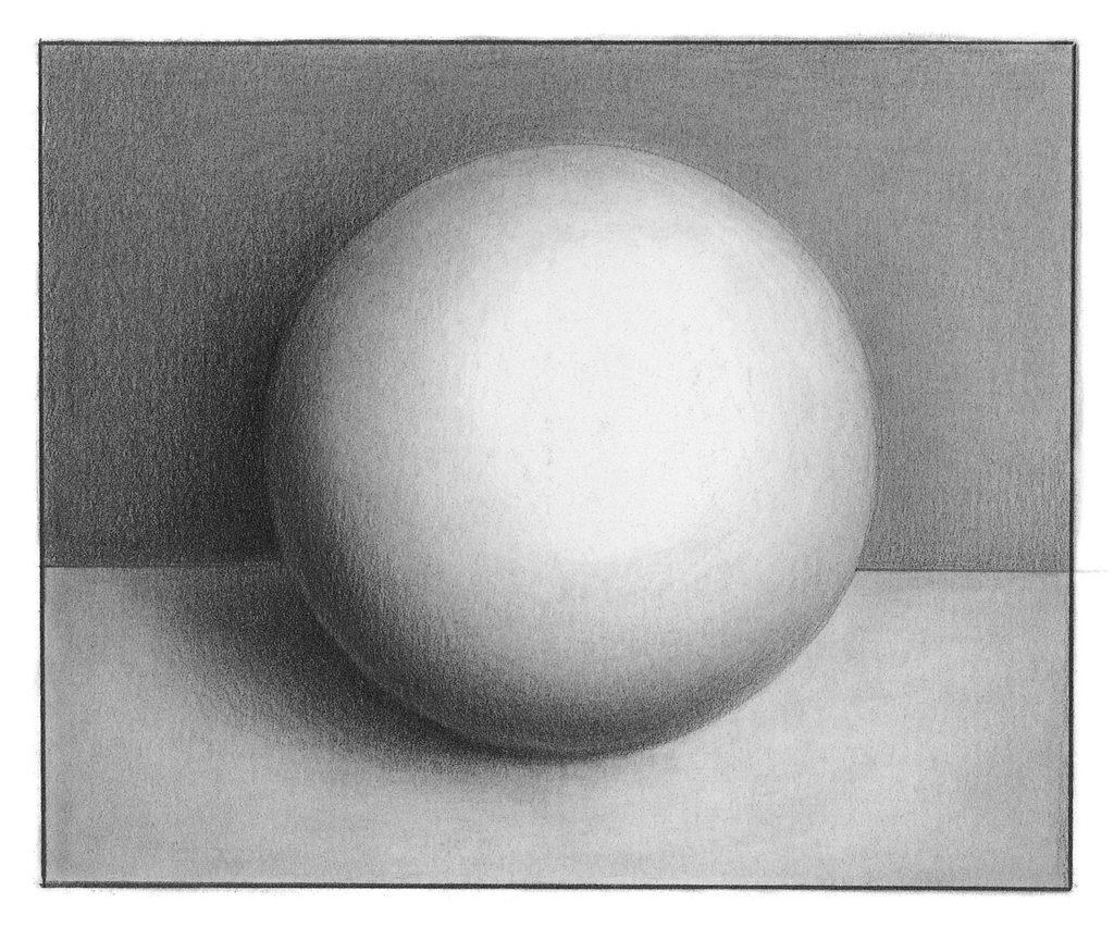 Vẽ hình cầu |  Khái niệm cơ bản về bút chì vẽ bằng than chì với Lee Hammond |  Mạng lưới nghệ sĩ