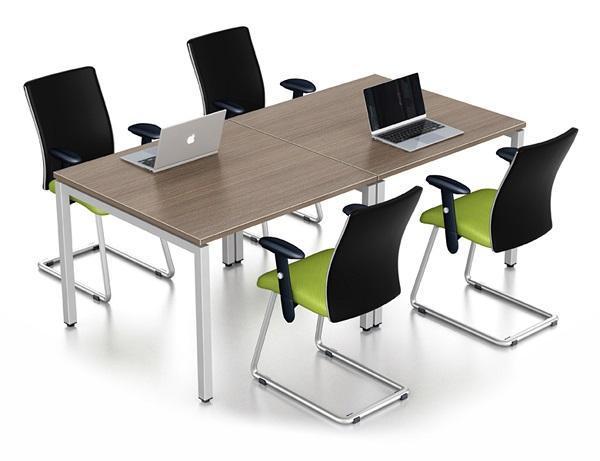 Cụm bàn làm việc 4 người ngồi VBH-T4
