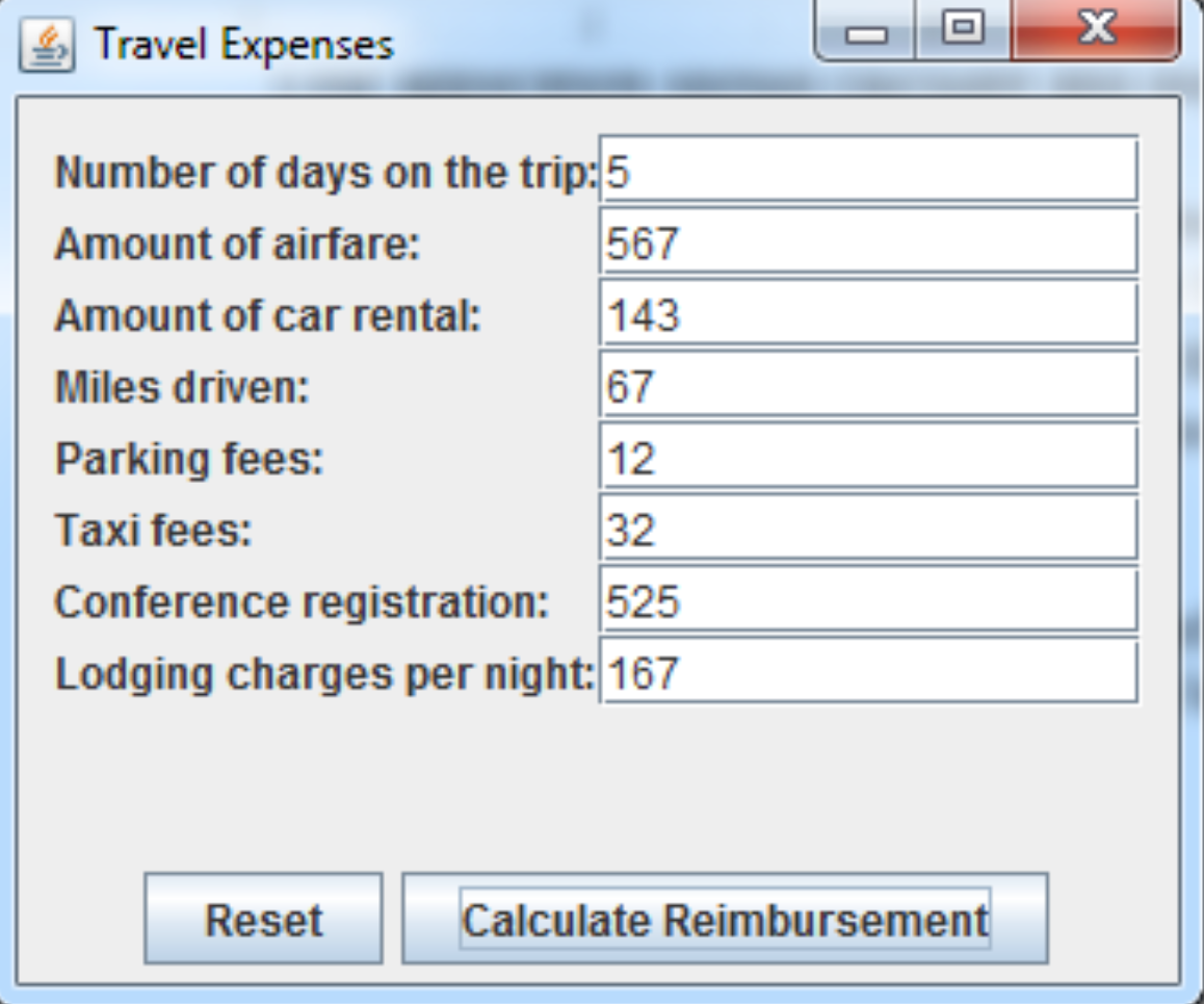 Travel Expenses Number Of Days On The Trip 5 567 Amount Airfare 143 Eh6rez F4pxwcyiitsgkjwhgt72vnurdumrdnxoh