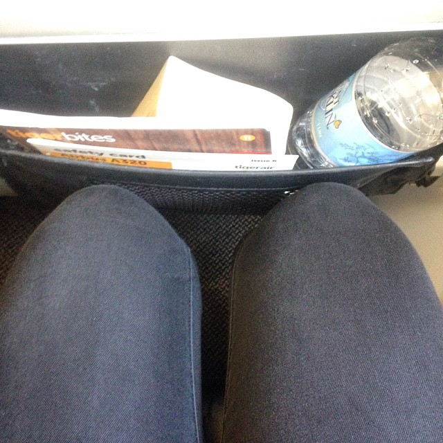 There's by no means and can by no means be sufficient leg room