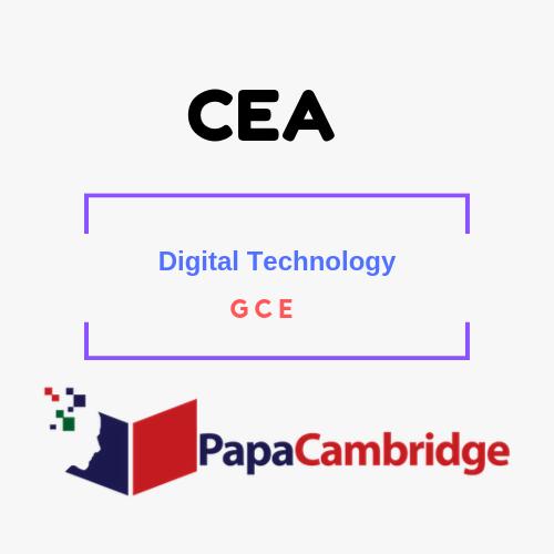Digital Technology General Certificate of Education PPT Slides