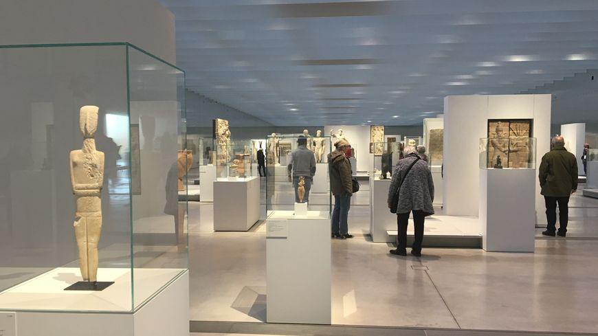 La galerie du Temps au musée du Louvre-Lens © Radio France - Eric Turpin