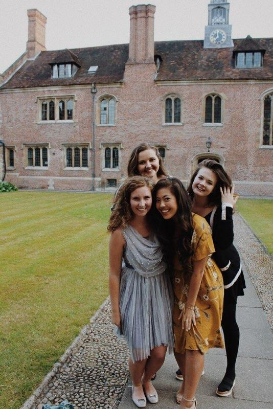 Anna and Friends at Cambridge