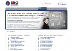 SEO guide: 50 steps to a search engine friendly site