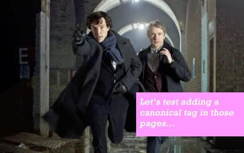 SEO Sherlock Holmes: Thử nghiệm