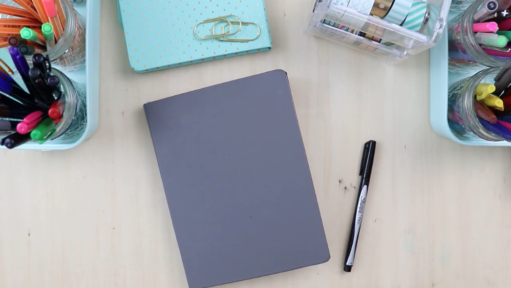 You can use any kind of notebook you want as your journal.