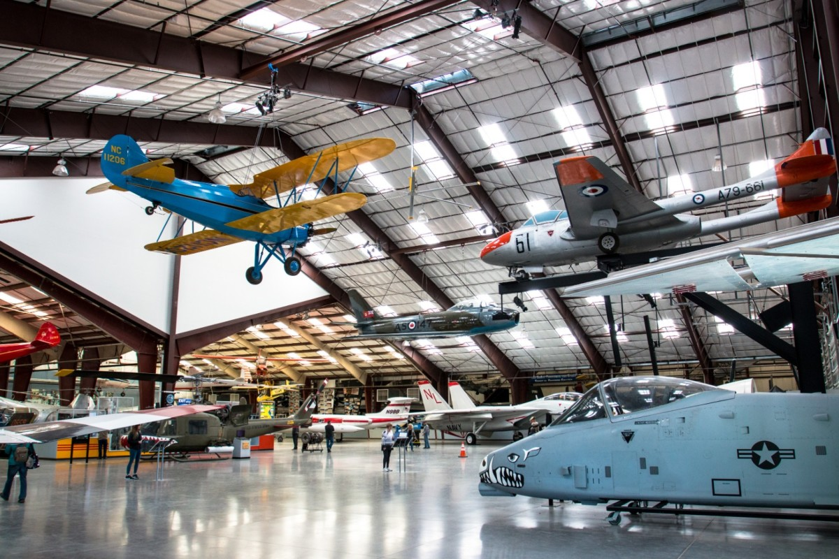 The PIMA Air & Space museum is a dream destination for aviation fans