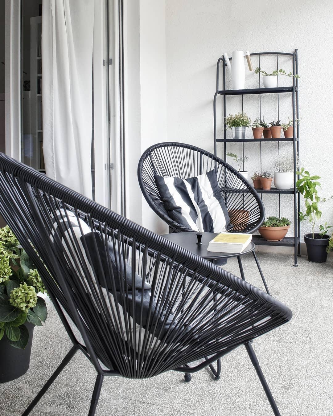 Uređenje terase minimalizam