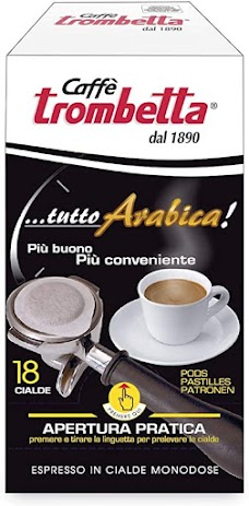 Trombett上帝親吻的咖啡    義大利原裝進口 100%aArabica 營業等級專用 百分百代理商公司貨