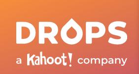 DROPS language learning app logo.