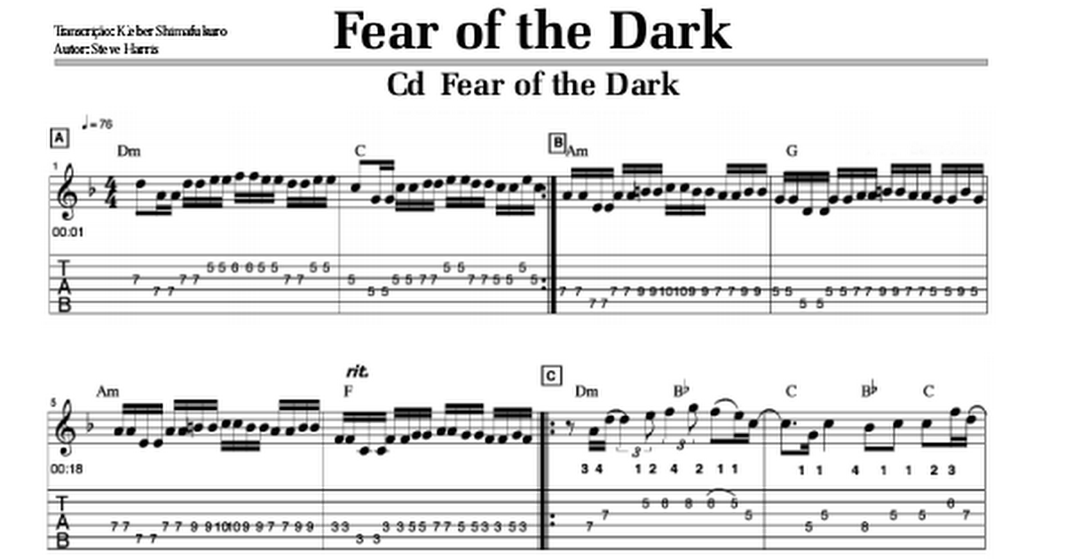 Iron Maiden - Fear Of The Dark.pdf - Google Drive