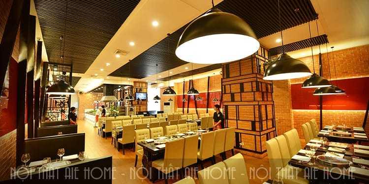 Thiết kế nhà hàng Seoul Garde