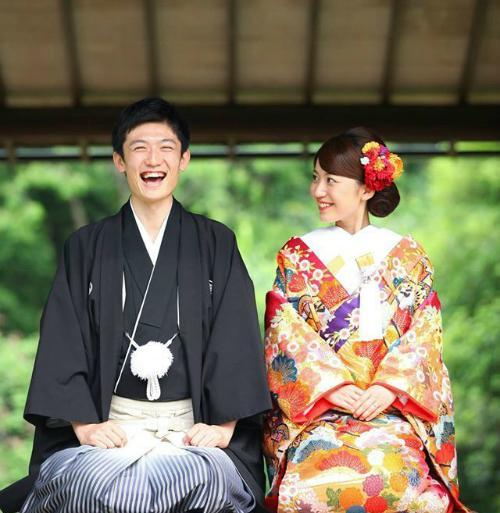 Image result for đám cưới người Nhật