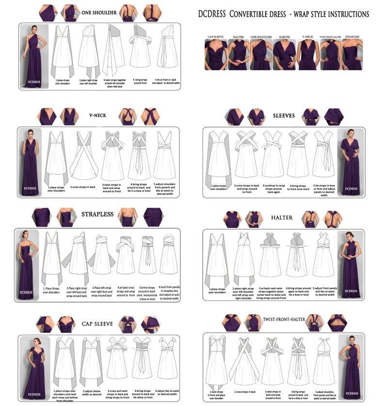 plus-size multiway bridesmaid dresses 8