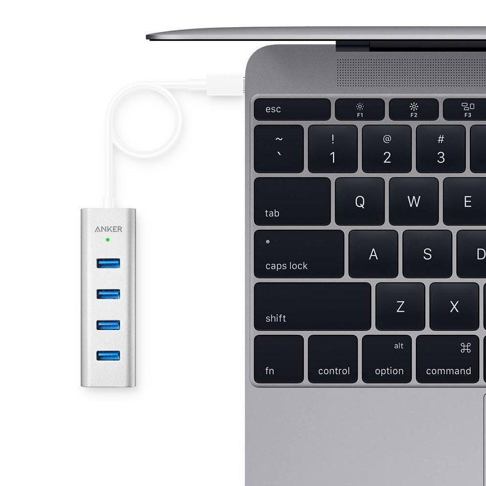 Image result for Anker 4-Port USB-C to USB 3.0
